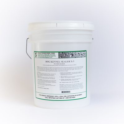 Dog Kennel Sealer X-3 - 5 Gallons
