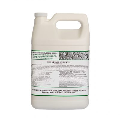 Dog Kennel Sealer X-1 -1 Gallon